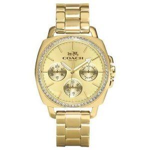 Coach analog watch